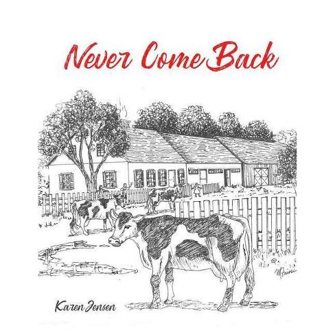 Never Come Back - by  Karen Jensen (Paperback) - image 1 of 1