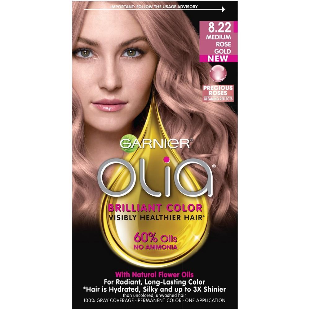 L Oreal Rose Gold Hair Color New Garnier Nutrisse Nourishing Creme H2 Golden