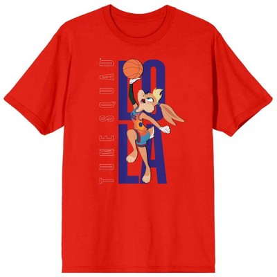 Space Jam 2: A New Legacy Lola  Bunny Red Men's Short Sleeve T-shirt