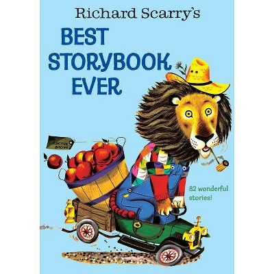 Richard Scarry's Best Story Book Ever - (Giant Little Golden Book) (Hardcover)