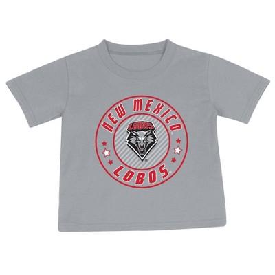 NCAA New Mexico Lobos Toddler Boys' 2pk Short Sleeve T-Shirt
