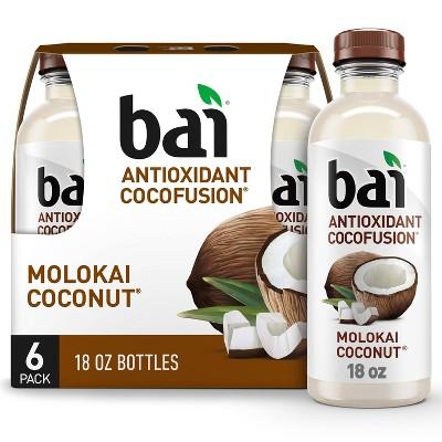 Bai Molokai Coconut Antioxidant Water - 6pk/18 fl oz Bottles