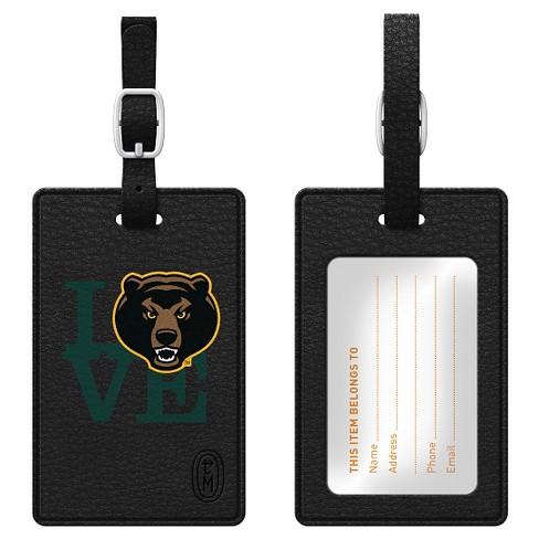 NCAA OTM Essentials Black Love Bag Tag - image 1 of 1