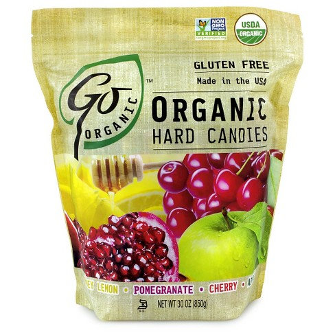 GoLightly Organic Assorted Flavors Hard Candies - 30oz - image 1 of 1