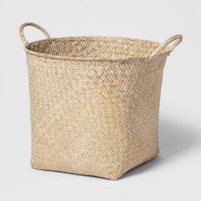 Decorative Basket White Washed 11 x13  - Threshold™