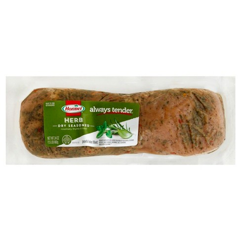 Always Tender Herb Dry Seasoned Pork Loin Fillet - 1.5 lb. - image 1 of 3