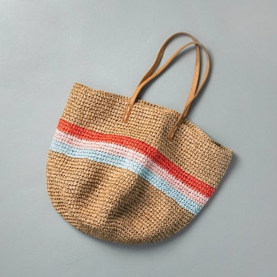 Tri-Stripe Market Tote Bag - Hearth & Hand™ with Magnolia