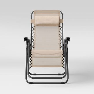 Zero Gravity Lounger Tan - Room Essentials™