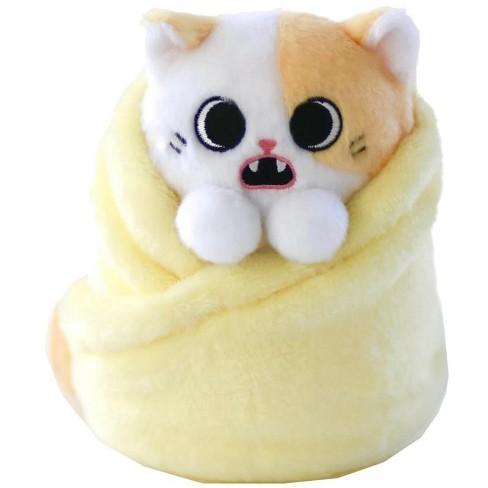 Purritos Pork Bun Plush Kitten In Blanket  8baf74c3871b