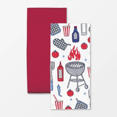 2pk Designer Towels - MU Kitchen