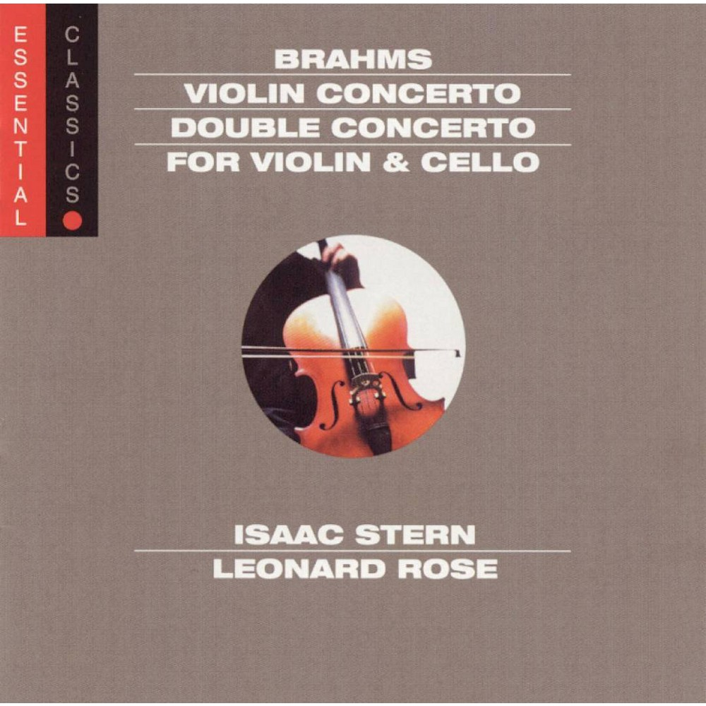 Isaac stern & philade - Brahms:Violin cto and double cto (CD)