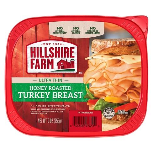 Hillshire Farms Ultra Thin Honey Roasted Turkey Breast - 9oz - image 1 of 3