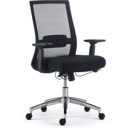 Staples Marrett Mesh And Fabric Task Chair Black 53249 Target