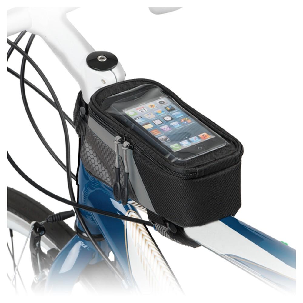 Bell Stowaway 400 Top Mount Bike Bag, Black/Neon Yellow/Electric Blue