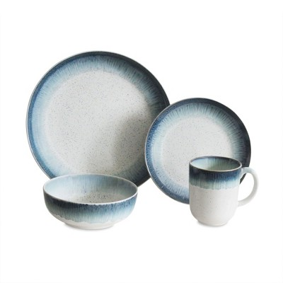 16pc Stoneware Marina Dinnerware Set Baum Bros.