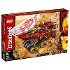 LEGO Ninjago Land Bounty Building Set with Ninja Minifigures, Action Toys for Creative Play 70677 - image 4 of 4