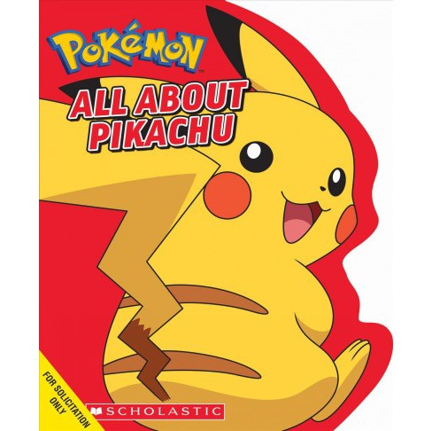 All About Pikachu -  (Pokémon) by Simcha Whitehill (Hardcover) - image 1 of 1
