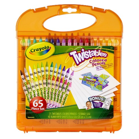 Crayola® Twistables Colored Pencils Kit - image 1 of 2
