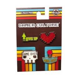 Pin-Club Gamer Culture Pin Set - 4-Pack