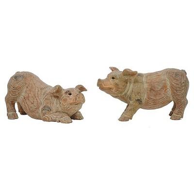 Pig Decorative Figurine Brown - 3R Studios
