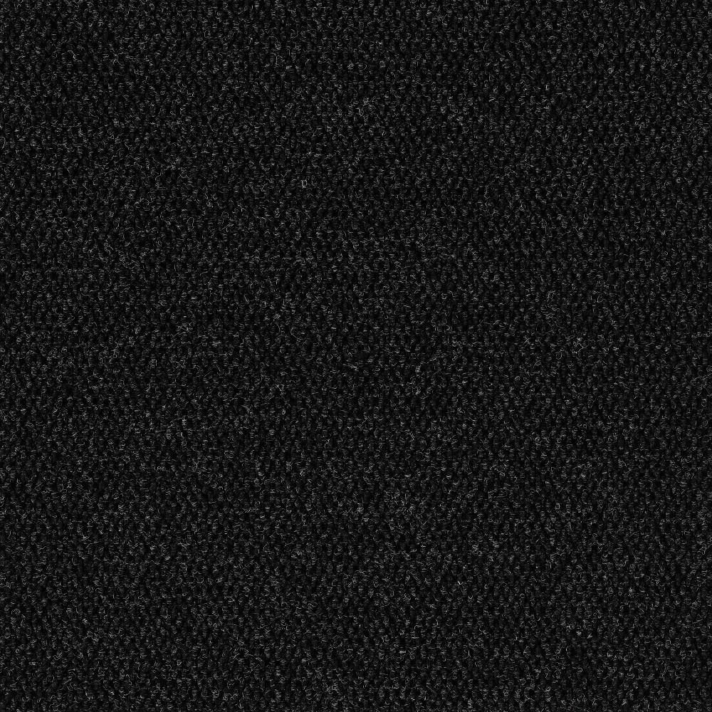 24 10pk Self Stick Carpet Tile Charcoal - Foss Floors Reviews