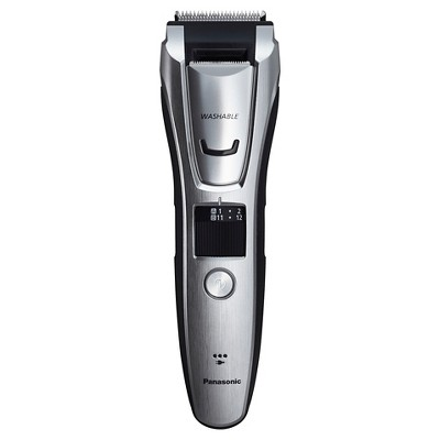 Panasonic Men's All-in-One Rechargeable Facial Beard Trimmer and Total Body Hair Groomer - ES-GB80-S