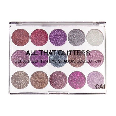 CAI All That Glitters 15 color Eye Shadow Palette - image 1 of 2