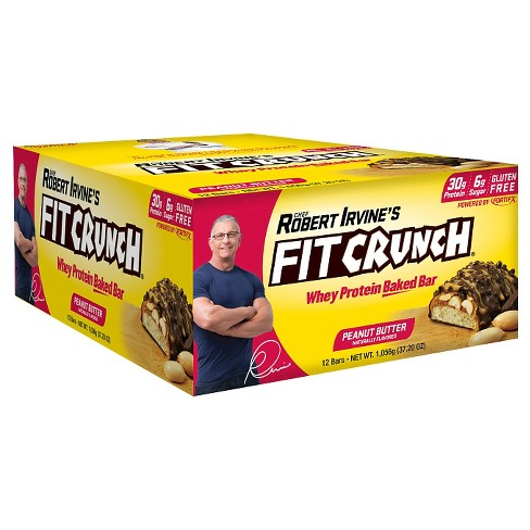 Robert Irvine Fit Crunch Protein Bar