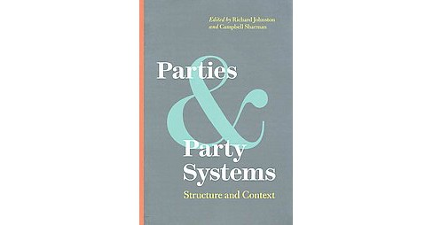 Parties and Party Systems : Structure and Contest (Hardcover) - image 1 of 1