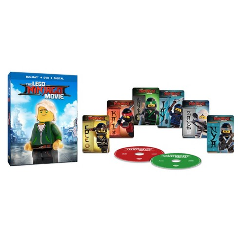 LEGO Ninjago Movie: Target Exclusive Lenticular Packaging + 6 Trading Cards (Blu-ray + DVD + Digital) - image 1 of 3