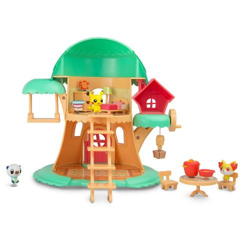 Pokemon Tree House - Serena - Fennekin - Pikachu - Oshawott - image 1 of 2