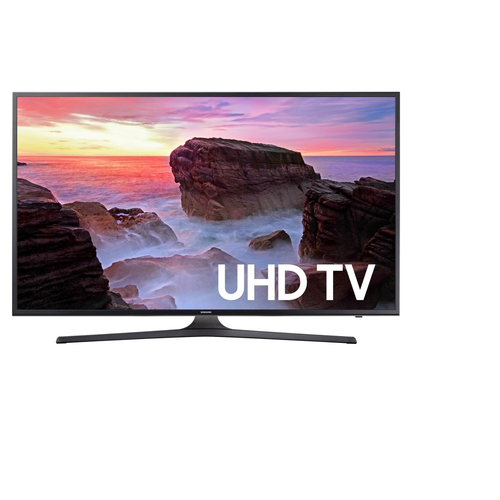 Samsung 43 4K 60Hz Flat Panel TV - Black (UN43KU6300FXZA) Get instant access to the entertainment you want with the Samsung 43in 2160p 120 Hz Flat Panel TV - Black (UN43KU6300FXZA). Smart TV attributes take your home entertainment to the next level of quality.