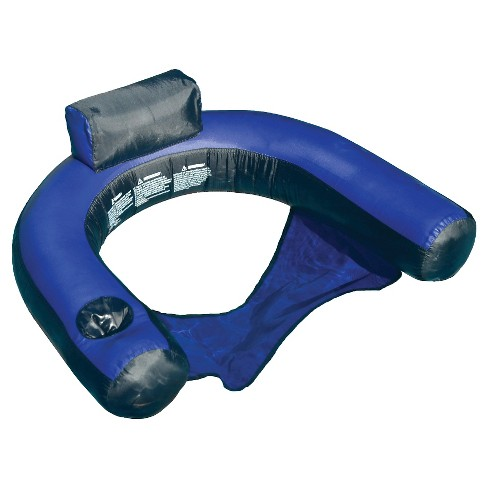 Fabric Covered U-Seat Pool Inflatable - image 1 of 2