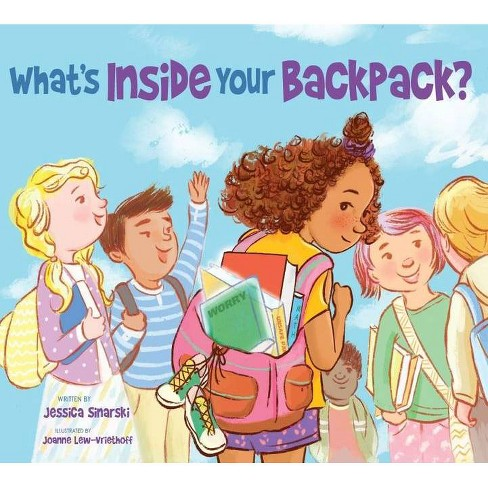 What's Inside Your Backpack? - by  Jessica Sinarski (Paperback) - image 1 of 1