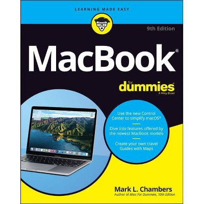 Macbook for Dummies - 9th Edition by  Mark L Chambers (Paperback)