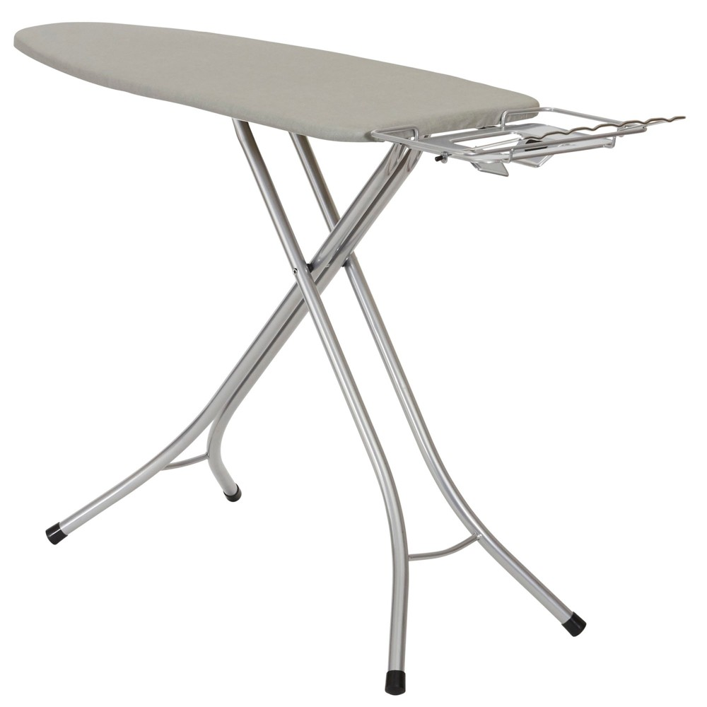 Household Essentials Mega Wide Top Ironing Board, Silver