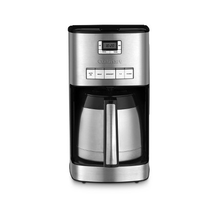 Cuisinart 12-Cup Programmable Coffeemaker - Stainless Steel - DCC-3850TG