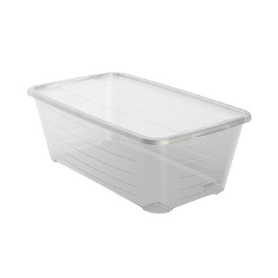 Life Story 6 Quart Stacking Storage Box Bin Clear Container with Lid, 36 Pack