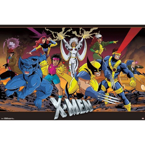 "34"" x 23"" X - Men Group Unframed Wall Poster Print - Trends International - image 1 of 2"