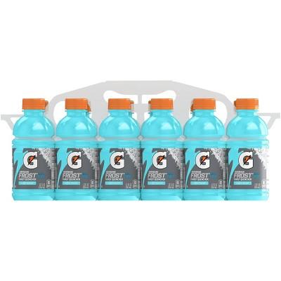 Gatorade Frost Glacier Freeze Sports Drink - 12pk/12 fl oz Bottles