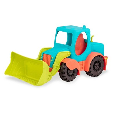 B. toys Large Toy Truck Front-End Loader - Loadie Loader
