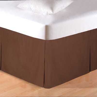 C&F Home Brown Bed Skirt
