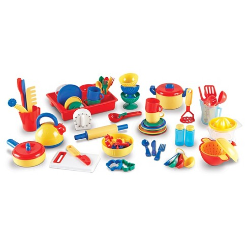 dbaebea8b7705 Learning Resources Pretend And Play Kitchen Set   Target