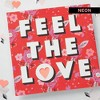 """Feel the Love"" Valentine's Day Card - image 4 of 4"