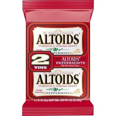 Altoids Peppermint Candies - 1.76oz/2ct
