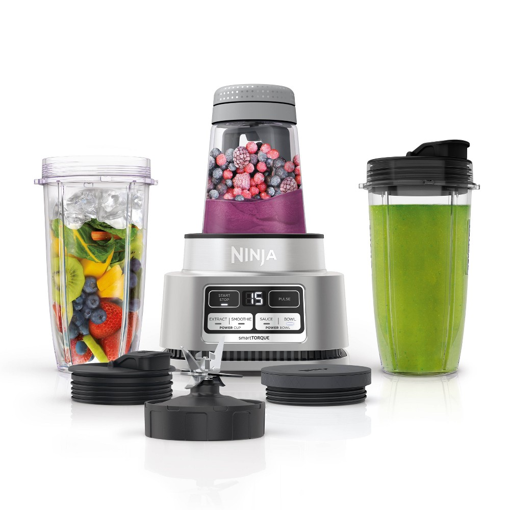 Ninja Foodi Power Nutri Duo 24oz Smoothie Bowl Maker And Personal Blender 1200wp 4 Auto Iq Exclusive Preset
