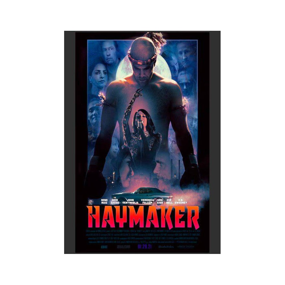 Haymaker Dvd 2021