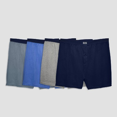 Fruit of the Loom Men's Knit Boxer Shorts 4pk - 2XL