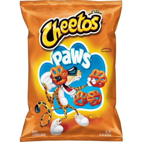 Cheetos Paws Cheese Flavored Snacks - 7.5oz - image 1 of 3