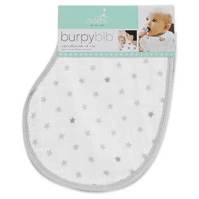 Aden + Anais Burpy Bib Single - Dove